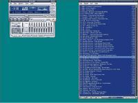 Winamp 5.0 - větší obrázek z programu