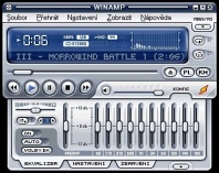 WinAmp - větší obrázek z programu