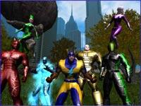 City of Heroes - screenshoty