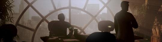 Pan Marson a jeho asistent ve své newyorkské kanceláři