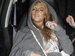 Lindsay Lohanová se v sobotu i v pondělí zpila pod obraz