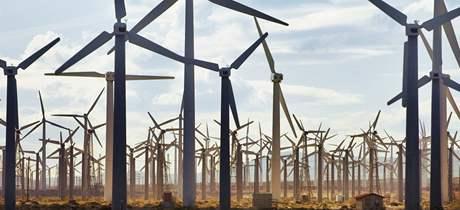 Obyvatelé městečka, kde vyrůstá nový větrný park, tvrdí, že ČEZ nemá ke stavbě potřebná povolení. Ilustrační foto