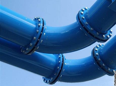 Venkovní vodovodní potrubí