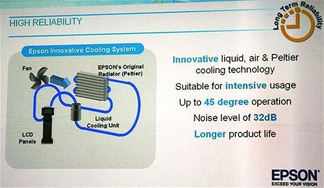 Epson slide cooling