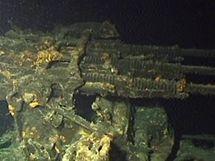 Potopená japonská ponorka I-401