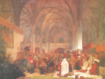 Slovanská epopej: Kázání mistra Jana Husa (1412)