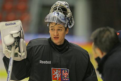 Jakub Štěpánek podal v české brance vynikající výkon, v pátek si mohl odpočinout