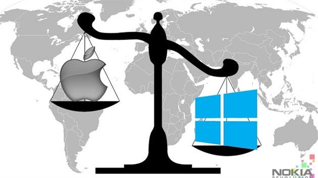 Windows Phone v řadě zemí poráží systém iOS od Applu